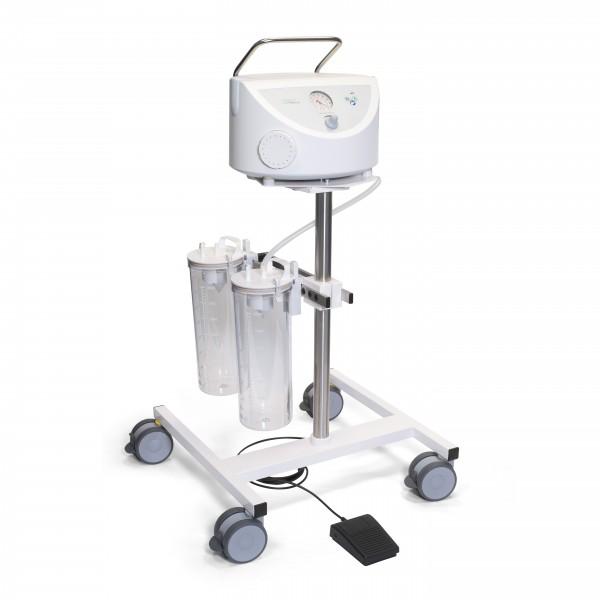 BORA UP 2080 OP Komplettgerät / Chirurgieabsaugung / fahrbar / 2 x 4 l / PC
