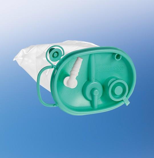 Serres® Einweg-Absaugbeutel 1 l, ohne Geliermittel