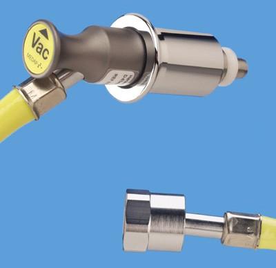 Anschlussschlauch VAC MEDAP 3 m ISO