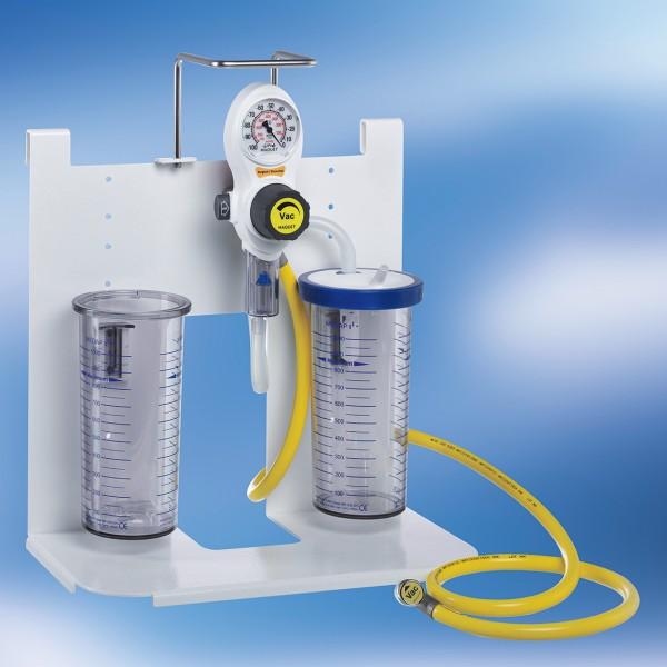 S VAC Saugeinheit Kompakt Komplettgerät DIN / Vakuum / 2 x 1 l