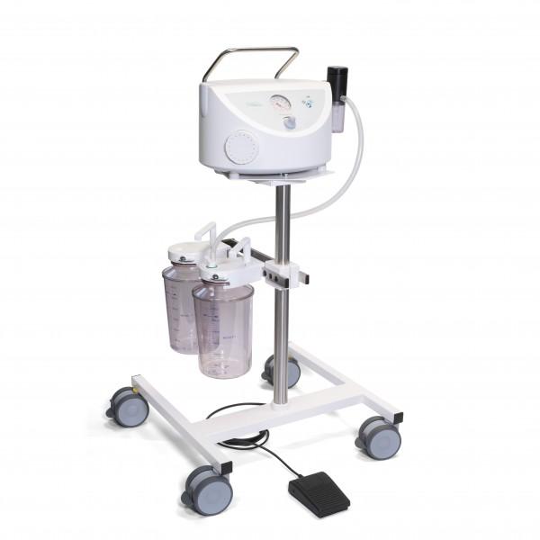 BORA UP 2080 OP Komplettgerät / Chirurgieabsaugung / fahrbar / 2 x 3 l